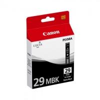Картридж оригинальный матовый черный (matte black) Canon PGI-29MBK, объем 36 мл.