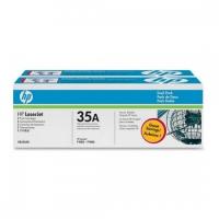 Картридж оригинальный (двойная упаковка) HP CB435AD  №35, ресурс 2 х 1500 стр.