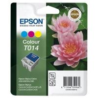 Картридж оригинальный (блистер) цветной Epson T014 color, ресурс 150 стр.