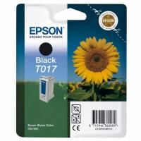 Картридж оригинальный (в технологической упаковке) черный Epson T017 black, ресурс 420 стр.