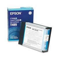 Картридж оригинальный голубой / светло-голубой (Cyan / Light Cyan) Epson T489