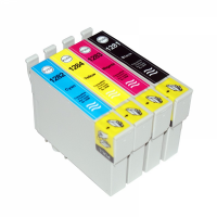 Комплект картриджей оригинальный (в технологической упаковке) Epson T1285 (Bl, C, M, Y)