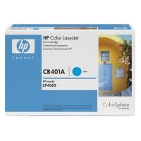 Картридж оригинальный голубой (cyan) HP CB401A, ресурс 7500 стр.