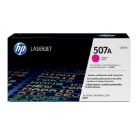 Картридж оригинальный пурпурный (magenta) HP CE403A №507A, ресурс 6000 стр.
