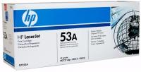 Картридж оригинальный HP Q7553A / 53A, ресурс 3000 стр.