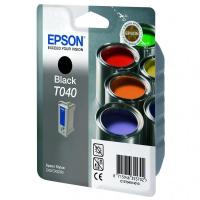 Комплект оригинальный Epson T040140BA (черный + цветной)