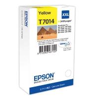 Картридж оригинальный желтый (yellow) Epson T7014 XXL / C13T701440, ресурс 3400 стр.