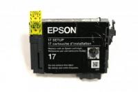 Картридж оригинальный (блистер) Epson T1701 Bk