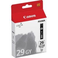 Картридж оригинальный серый (gray) Canon PGI-29GY, емкость 36 мл.
