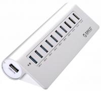 USB-концентратор Orico M3H73P-SV (серебристый)