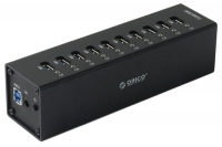 USB-концентратор Orico A3H10 (черный)