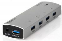 USB-концентратор Orico AS4P-U3P (серебряный)