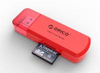 Картридер Orico CTU33 (красный)