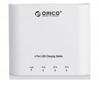 Зарядное устройство Orico DCH-4U  (белый)