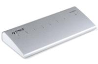 USB-концентратор Orico H73 (серебряный)