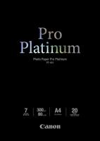 Бумага Canon PT-101 (Photo Paper Platinum) глянцевая A4, 300 г/м2, 20 л.