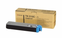 Картридж оригинальный голубой (cyan) Kyocera TK-510C, ресурс 8000 стр.