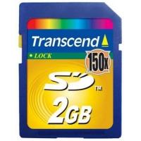 Карта памяти Transcend SD 2Gb, 150 х