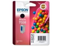 Картридж оригинальный (блистер) черный Epson T028 black, ресурс 420 стр.