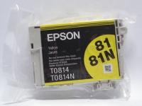 Картридж оригинальный (блистер) (повышенной емкости) желтый (yellow) Epson T0814 / C13T08144A, объем 11,1 мл.