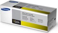 Картридж оригинальный желтый Samsung CLT-Y504S Yellow, ресурс 1800 стр.