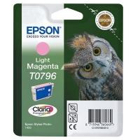 Картридж оригинальный (блистер) светло-пурпурный (light magenta) Epson T0796 / C13T07964010