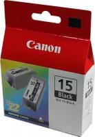 Картридж оригинальный черный Canon BCI-15 Black, ресурс 185 стр. (1 шт.)