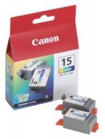 Картридж оригинальный цветной Canon BCI-15 Color, ресурс 100 стр. (1 шт.)