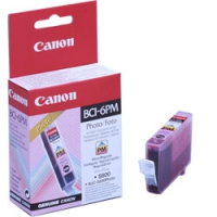Картридж оригинальный фотографический пурпурный (photo magenta) Canon BCI-6PM, объем 13 мл.