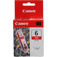Картридж оригинальный красный (red) Canon BCI-6R, объем 13 мл.