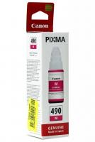Картридж оригинальный Canon GI-490M пурпурный, 70 мл.