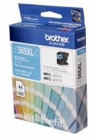 Картридж оригинальный голубой (cyan) Brother LC-565XL-C, ресурс 1200 стр.