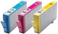 Набор оригинальный из 3 картриджей №178 + 85 листов глянцевой фотобумаги 250 г/м (блистер), HP SD754HE (CH083HE)