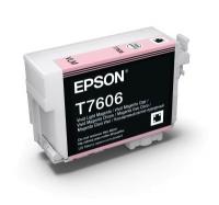 Картридж оригинальный (в технологической упаковке) Epson T7606 SС P-600 Light Magenta