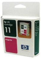 Картридж оригинальный пурпурный (magenta) HP C4837AE (№ 11), емкость 28 мл.