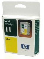 Картридж оригинальный желтый (yellow) HP C4838AE (№ 11), емкость 28 мл.