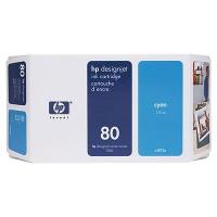 Картридж оригинальный голубой (cyan) HP C4846A (№10), емкость 350 мл.