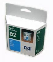 Картридж оригинальный голубой (cyan) HP C4911A (№82), емкость 69 мл.