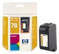 Картридж оригинальный цветной HP C6578DE (№78) Color, ресурс 560 стр.