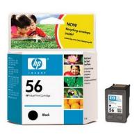 Картридж оригинальный черный HP C6656A (№56) Black 19 мл.