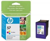 Картридж оригинальный цветной HP C6657A (№57) Color, емкость 17 мл.
