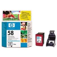 Картридж оригинальный цветной HP C6658A (№58) Color Photo, ресурс 140 стр.