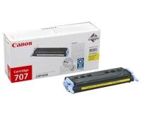 Картридж оригинальный желтый (yellow) Canon Cartridge 707, ресурс 2000 стр.