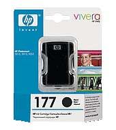 Картридж оригинальный черный (black) HP C8721HE (№177), ресурс 410 стр.