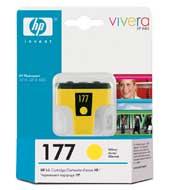 Картридж оригинальный желтый (yellow) HP C8773HE (№177), ресурс 500 стр.