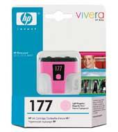 Картридж оригинальный светло-пурпурный (light magenta) HP C8775HE (№177), ресурс 500 стр.