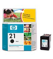 Картридж оригинальный черный (black) HP C9351A (№ 21), ресурс 190 стр.