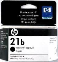 Картридж оригинальный простой черный (black) HP C9351B (№ 21), ресурс 120 стр