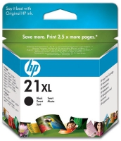 Картридж оригинальный (увеличенного объема) черный HP C9351CE (№ 21XL) Black, ресурс 350 стр.