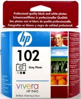 Картридж оригинальный серый (gray) HP C9360AE (№102), ресурс 120 стр.